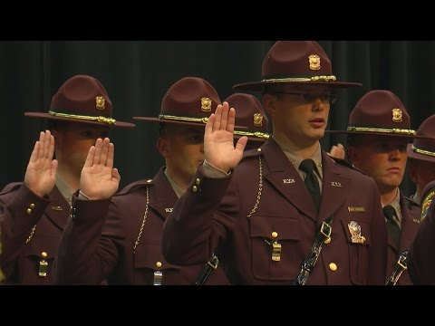 State Patrol Holds Graduation For 42 Officers