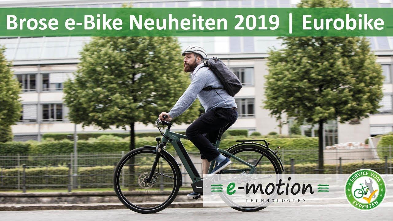 Brose e-Bike Neuheiten 2019 - Drive S Mag | Eurobike 2018
