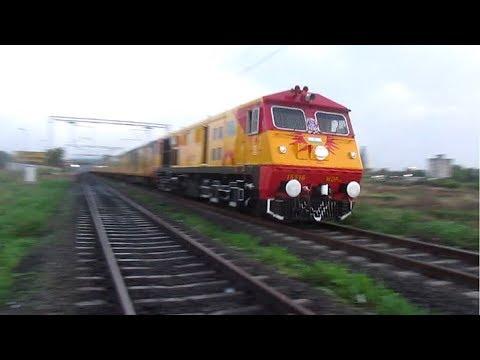 KALYAN WDP-3A Mumbai CST - Karmali TEJAS Express