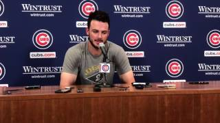Kris Bryant talks about how the Cubs overcame obstacles to beat Pirates thumbnail