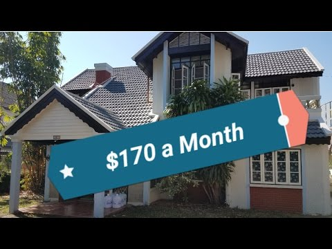 Moving into a Big House on Nimman - Cheap Chiang Mai Apartments - Thrifty Living Blog