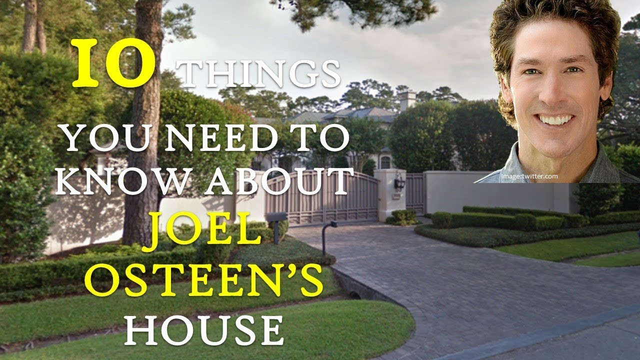 Joel Osteen | 10 Fascinating things about his $10 5 million River Oaks  Houston Texas Mansion
