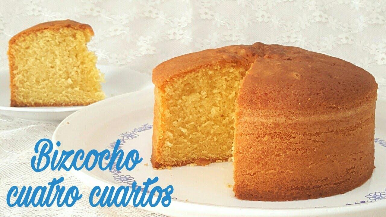 Bizcocho cuatro cuartos | Mi tarta preferida - YouTube
