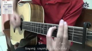 5 MENIT Belajar Kunci Dan Genjrengan Gitar (Let It Be My Way - Andien)