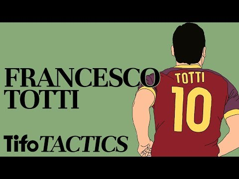 Tactics Explained | The Role Of Francesco Totti