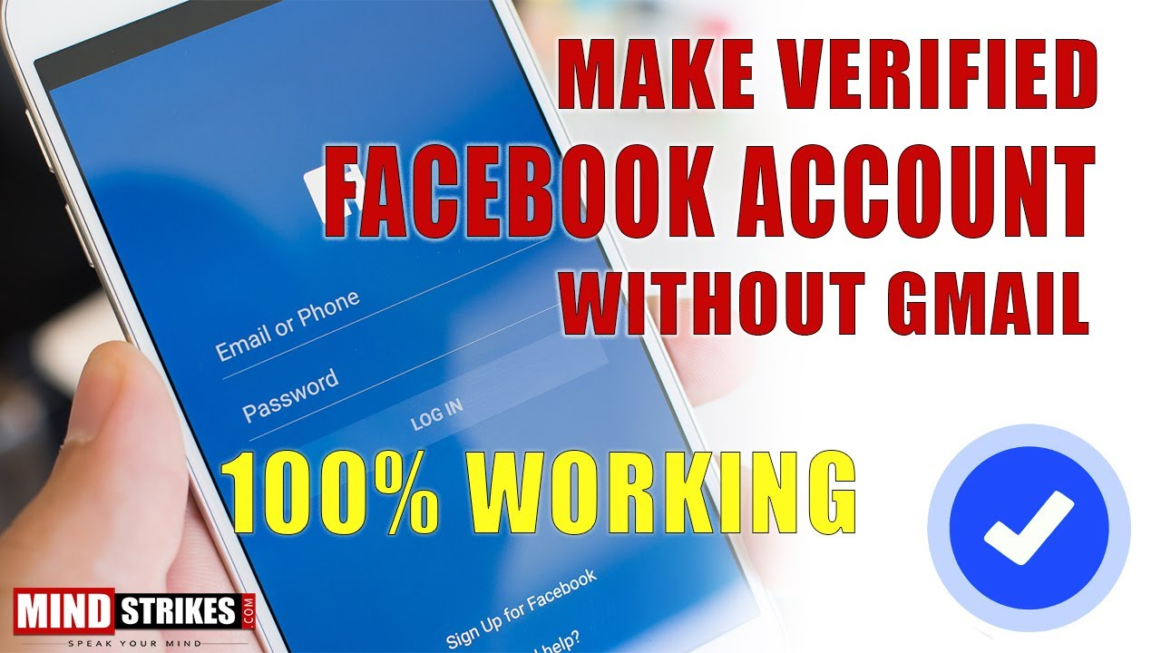 how to get facebook account verified