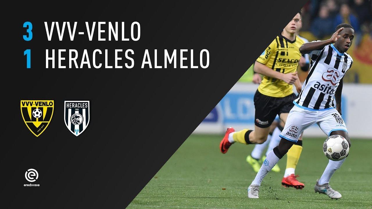 VVV-Venlo - Heracles Almelo 3-1 | 24-12-2017 | Samenvatting