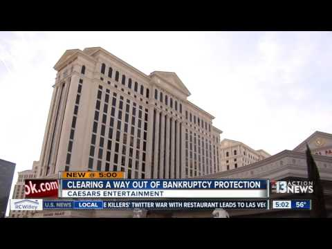 Caesars Entertainment clears way out of bankruptcy protection