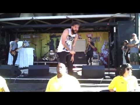 Letlive.-Muther Warped Tour 2013 Mountain View, CA