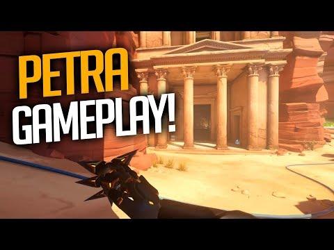 OVERWATCH - NOVO MAPA PETRA GAMEPLAY! - Central thumbnail