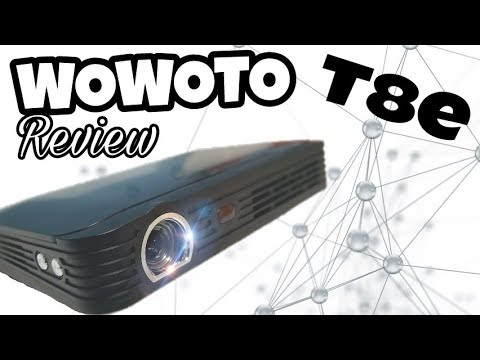 Wowoto T8e Review Portable Wifi Bluetooth 3d Projector