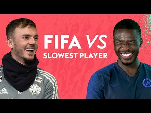 Footballers guess who their SLOWEST teammate is on FIFA 20!   FIFA vs Maddison, Tomori & more!