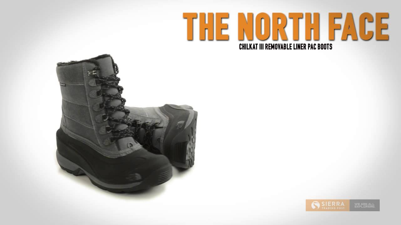 b94af1d68d The North Face Chilkat III Removable Liner Pac Boots - Waterproof ...
