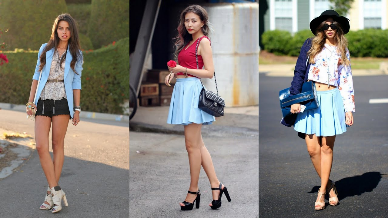 Trendy Outfits That Feature Serenity Color To Wear In 2016