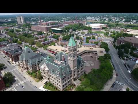 Massachusetts Phantom 4 Drone Flight (Downtown Lowell, MA Footage)