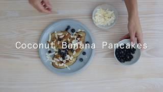 Gluten Free Coconut Banana Pancakes Recipe