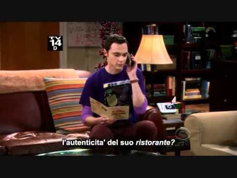 Tbbt 4x17  Sheldon speaks italian