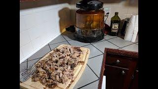 Pulled Pork Shoulder Butt Roast NuWave Oven Recipe (Slow and Low)