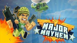 Major Mayhem Gameplay - Windows Phone