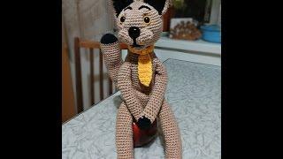 Связать кота крючком. Часть 1.Link hook cat. Part 1.