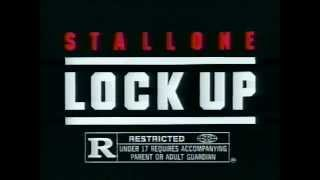 Stallone in Lock Up 1989 TV trailer