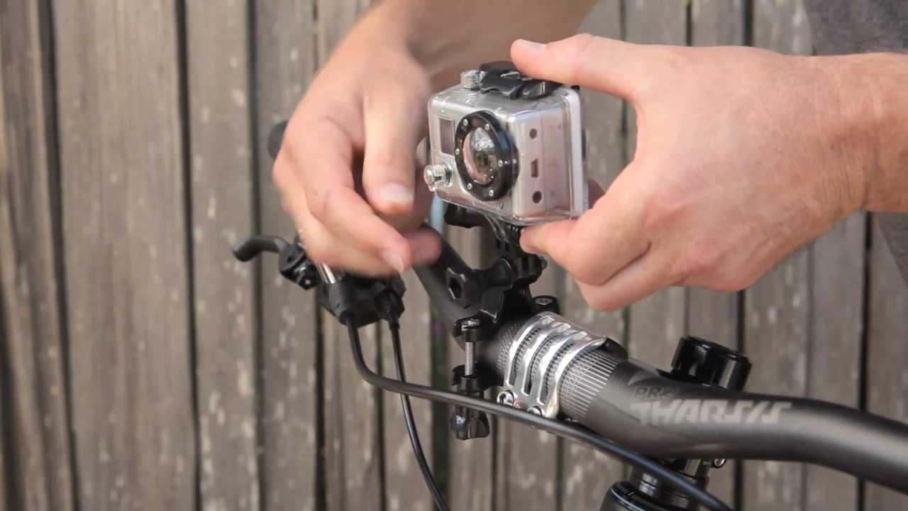 GoPro HD: Handlebar Seatpost Mount Tutorial
