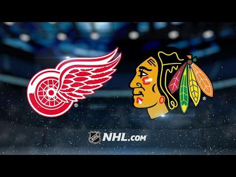 Mrazek, Bertuzzi lead Red Wings past Blackhawks, 4-0