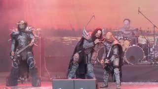 Lordi - Hell Sent in the Clowns (live), Metalfest 4.6.2016 HD