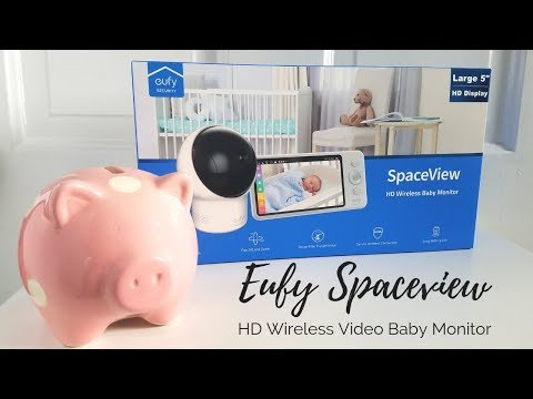 newborn-must-have-2019:-eufy-spaceview-hd-wireless-video-baby-monitor-review