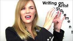 Artist Aid: Writing your artist statement