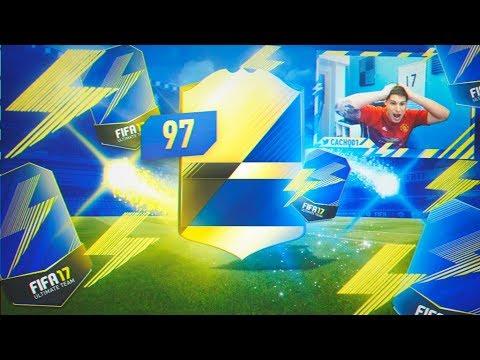 1 SOBRE = TOTS.... 97 MEDIA.... | PREMIER LEAGUE TOTS IN A PACK!! | FIFA 17