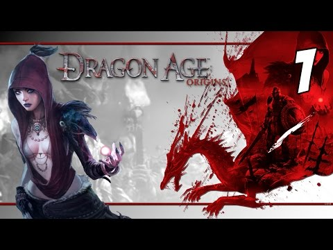 Let's Play Dragon Age: Origins Gameplay #1 - Female Dalish E