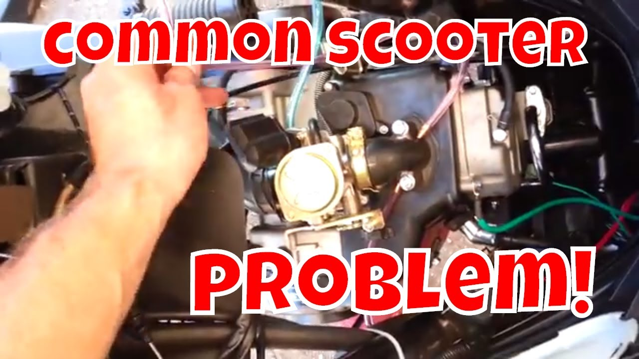 Chinese scooter maintenance upgrade : fuel line  YouTube