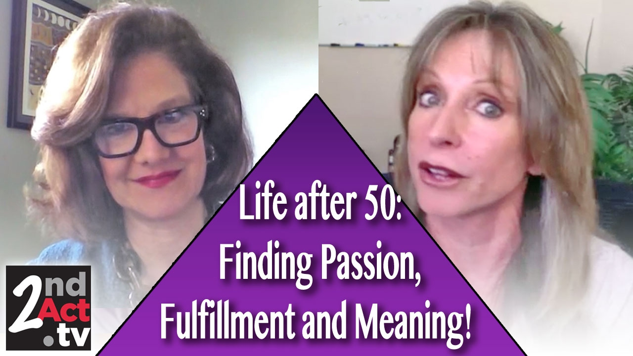 how to find meaning in life at 50