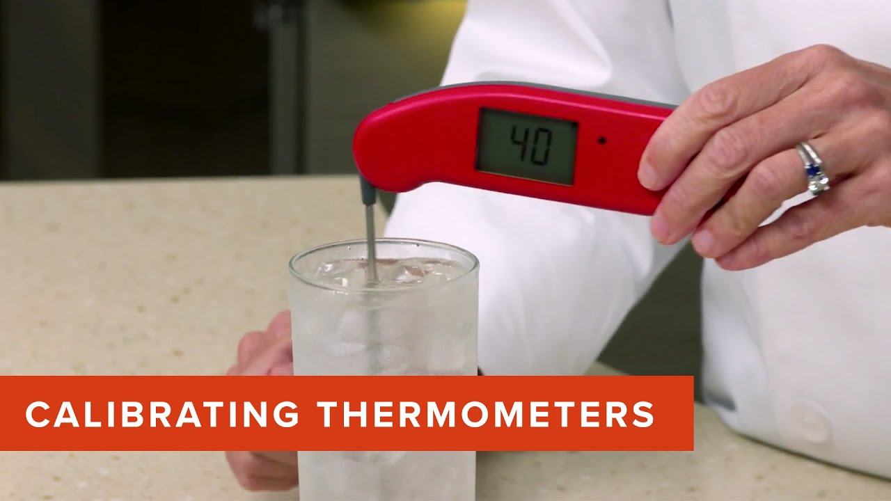 How to Calibrate Your Digital Instant-Read Thermometer