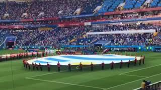 Himno Nacional De Uruguay. Uruguay vs Saudi Arabia World Cup 2018