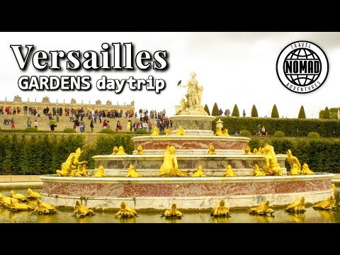 Day Trip Versailles Gardens | France Travel Vlog Guide