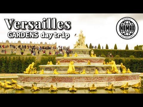 Day Trip Versailles Gardens | France Travel Vlog Guide