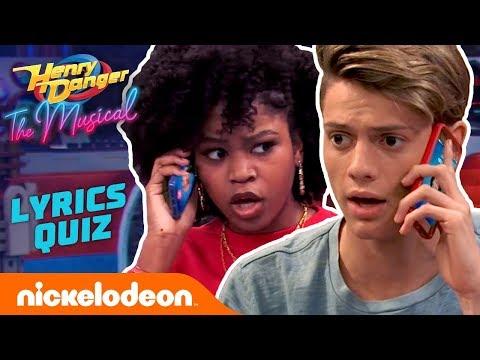 Henry Danger: The Musical Lyrics Quiz 🤓 Round 1!   #TryThis
