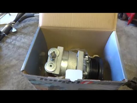 A/C Compressor Replacement 2001 Buick Century