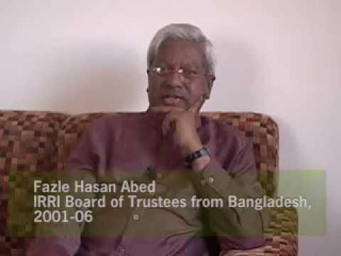 IRRI Pioneer Interviews--Challenges for IRRI: Fazl...