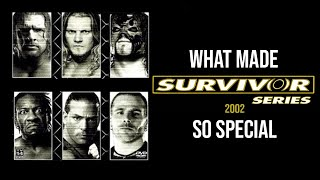 What Made Survivor Series 2002 So Special ?