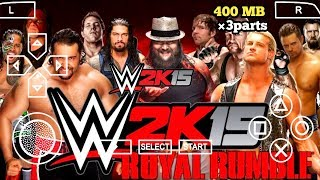 [OFFLINE] REAL WWE 2K15 PPSSPP ANDROID DOWNLOAD WWE 2K15 PSP MOD | ANDRO TECH CP I
