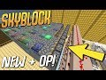 NEW + OP 100% Automatic Cobble + UNLIMITED Ore Generator! (Minecraft Skyblock) #23