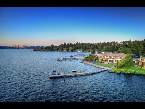 Available for Purchase - The Faben Point Estate, Mercer Island, WA Waterfront