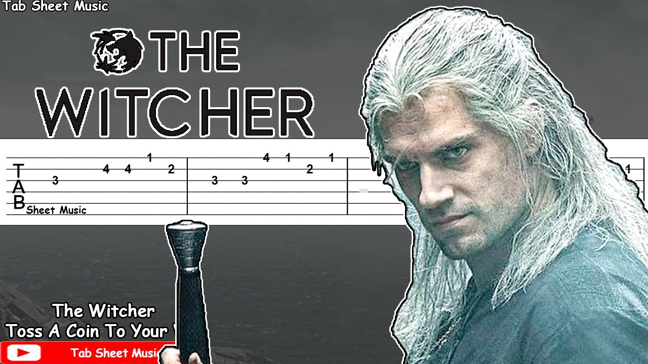 toss a coin to your witcher guitar