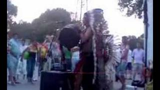 Indians singing in Mamaia(Black Sea Romanian Resort)