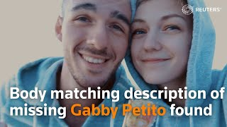 Body matching description of missing Gabby Petito found