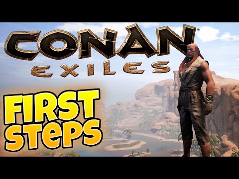Conan Exiles - Welcome to the Exiled Lands! Base Building/Character Building - Conan Exiles Gameplay