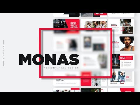 Free Monas Venture Business Powerpoint Template